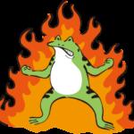 燃えるハンドレッド先生の友